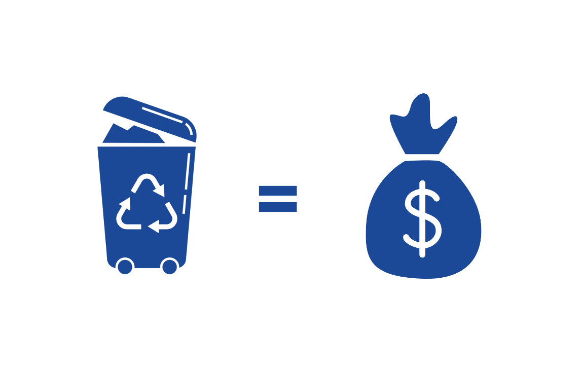 Make money from selling waste materials online